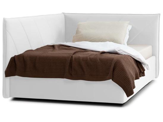 Ліжко Вероніка Luxe 120x200 Білий 4 -2