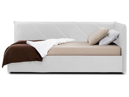 Ліжко Вероніка Luxe 120x200 Білий 4 -3