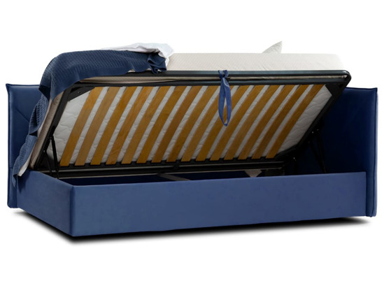 Ліжко Вероніка Luxe 120x200 Синій 6 -4