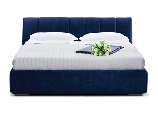 Ліжко Барбара Luxe 120x200 Синій 3 -2