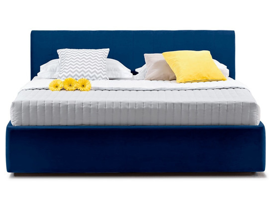 Ліжко Єва міні Luxe 90x200 Синій 3 -2