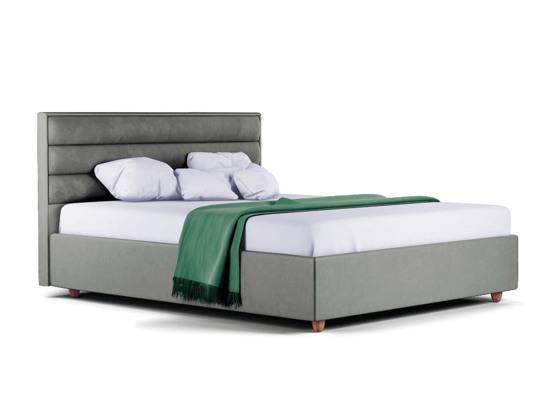 Ліжко Novelle Luxe 140x200 Сірий 3 -1
