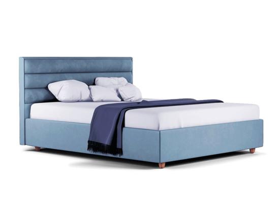 Ліжко Novelle Luxe 200x200 Синій 3 -1