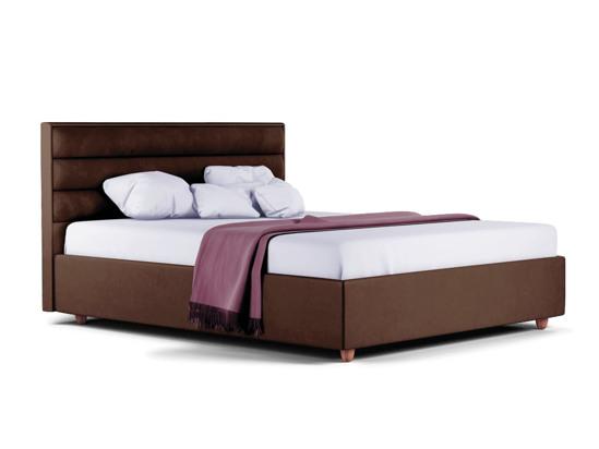 Ліжко Novelle Luxe 200x200 Коричневий 3 -1
