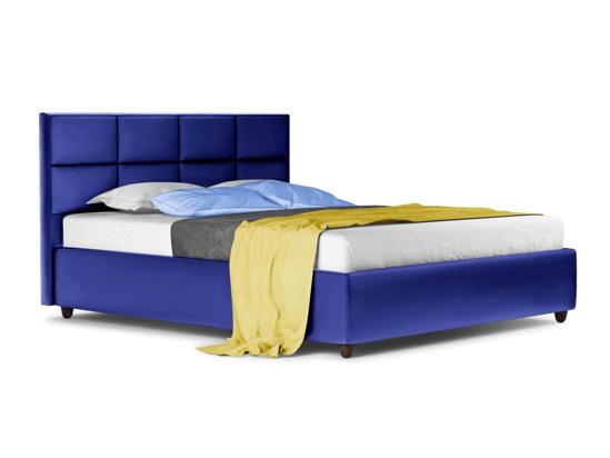 Ліжко Sienna Luxe 200x200 Синій 3 -1