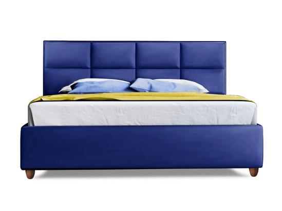 Ліжко Sienna Luxe 200x200 Синій 3 -2