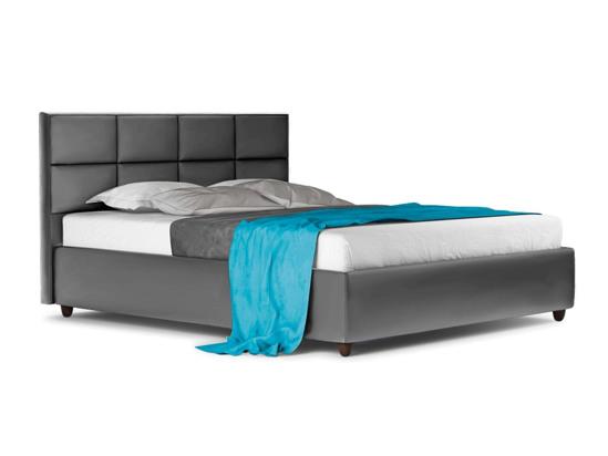 Ліжко Sienna Luxe 200x200 Сірий 3 -1