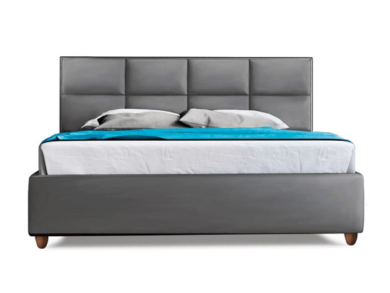 Ліжко Sienna Luxe 200x200 Сірий 3 -2