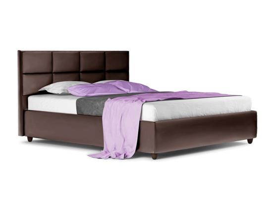 Ліжко Sienna Luxe 200x200 Коричневий 3 -1
