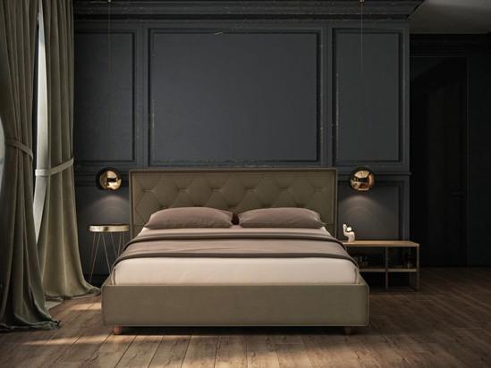 Ліжко Rochelle Luxe 160x200 Сірий 2 -3