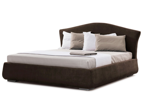 Ліжко Марго 200x200 Коричневий 2 -1