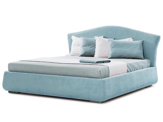 Ліжко Марго Luxe 200x200 Синій 3 -1