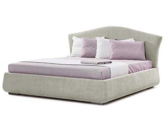 Ліжко Марго Luxe 200x200 Сірий 3 -1