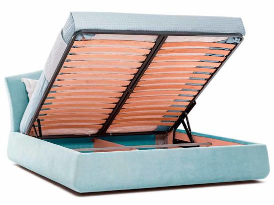 Ліжко Марго Luxe 200x200 Синій 4 -4