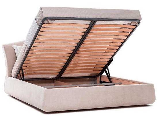 Ліжко Марго Luxe 200x200 Бежевий 4 -4