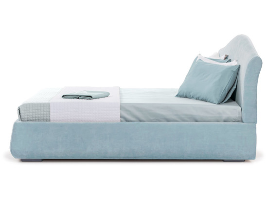 Ліжко Марго Luxe 200x200 Синій 5 -3