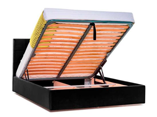 Ліжко Марта міні Luxe 200x200 Чорний 2 -4