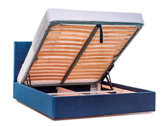 Ліжко Марта міні Luxe 200x200 Синій 2 -4