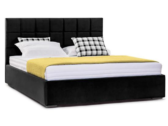 Ліжко Марта міні Luxe 200x200 Чорний 3 -1