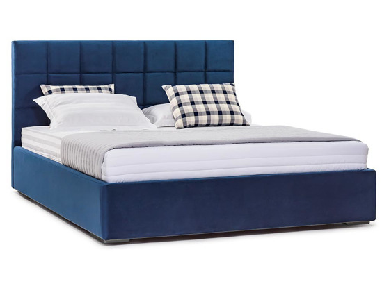 Ліжко Марта міні Luxe 200x200 Синій 3 -1