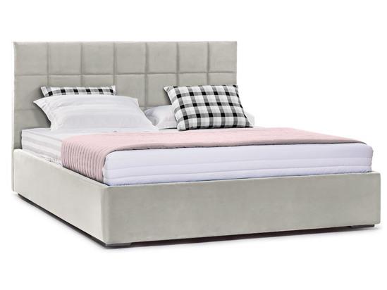 Ліжко Марта міні Luxe 200x200 Сірий 3 -1