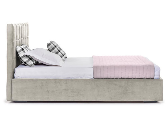 Ліжко Марта міні 200x200 Сірий 5 -3
