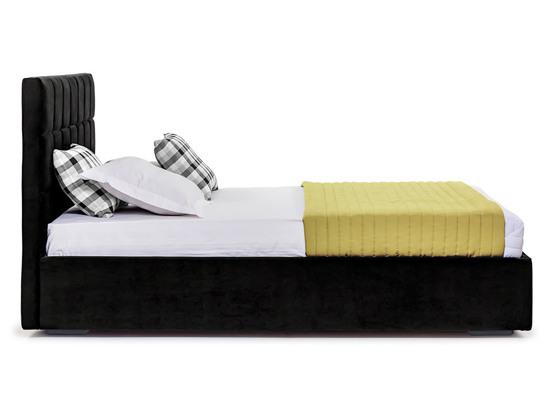 Ліжко Марта міні Luxe 200x200 Чорний 4 -3