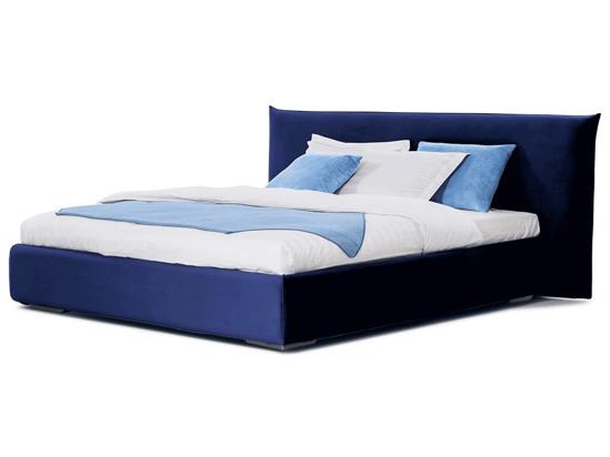 Ліжко Ніколь 200x200 Синій 2 -1