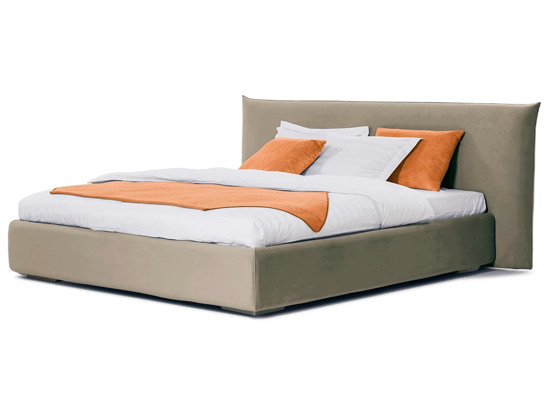 Ліжко Ніколь 200x200 Бежевий 3 -1