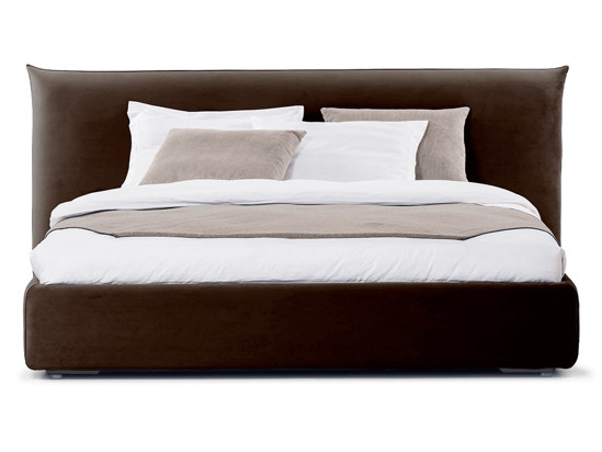 Ліжко Ніколь 200x200 Коричневий 5 -2