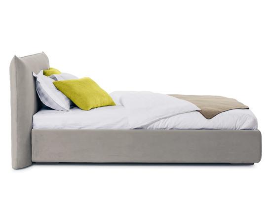 Ліжко Ніколь 200x200 Білий 5 -3