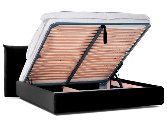 Ліжко Ніколь Luxe 200x200 Чорний 5 -4