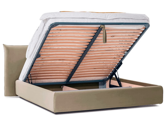 Ліжко Ніколь Luxe 200x200 Бежевий 6 -4