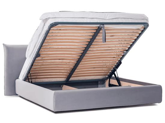 Ліжко Ніколь Luxe 200x200 Сірий 6 -4