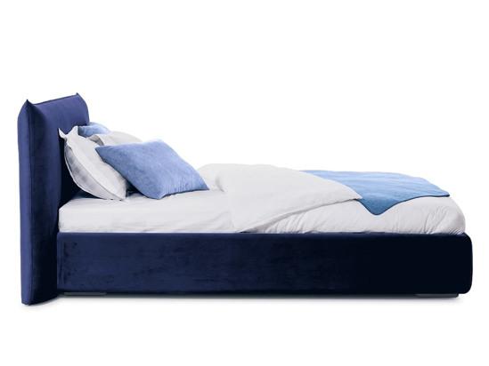 Ліжко Ніколь 200x200 Синій 7 -3