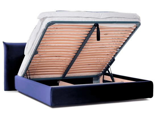 Ліжко Ніколь Luxe 200x200 Синій 8 -4