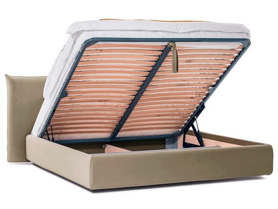 Ліжко Ніколь Luxe 200x200 Бежевий 2 -4