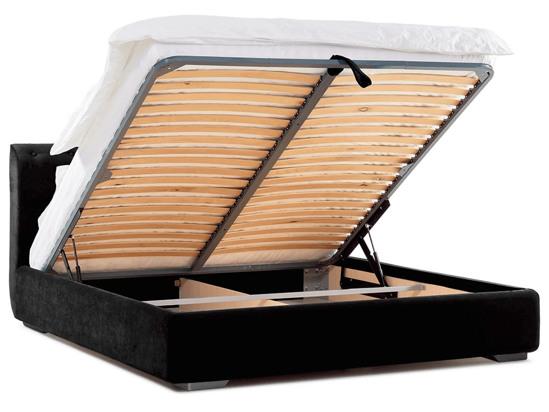 Ліжко Офелія міні Luxe 200x200 Чорний 2 -4