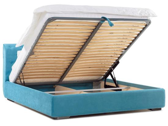 Ліжко Офелія міні Luxe 200x200 Синій 2 -4
