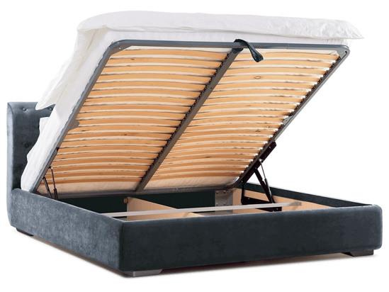 Ліжко Офелія міні Luxe 200x200 Сірий 5 -4