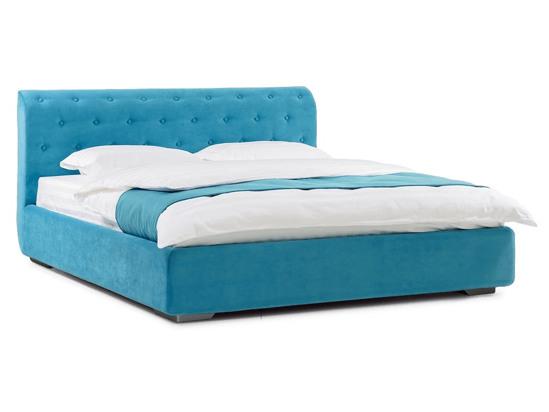 Ліжко Офелія міні Luxe 200x200 Синій 3 -1