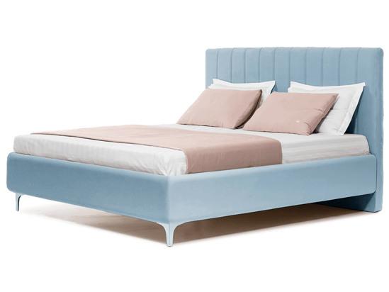 Ліжко Сандра Luxe 200x200 Синій 4 -1