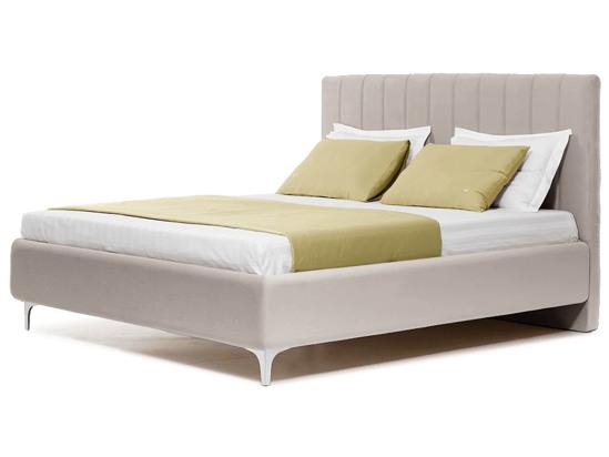 Ліжко Сандра Luxe 200x200 Білий 4 -1