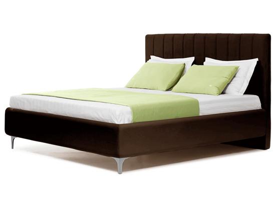 Ліжко Сандра Luxe 200x200 Коричневий 3 -1