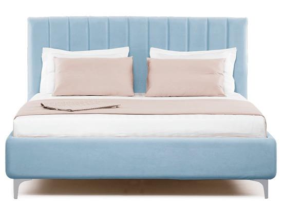 Ліжко Сандра Luxe 200x200 Синій 3 -2