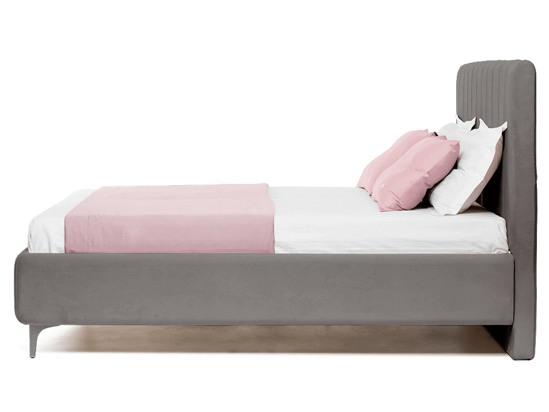 Ліжко Сандра 200x200 Сірий 3 -3