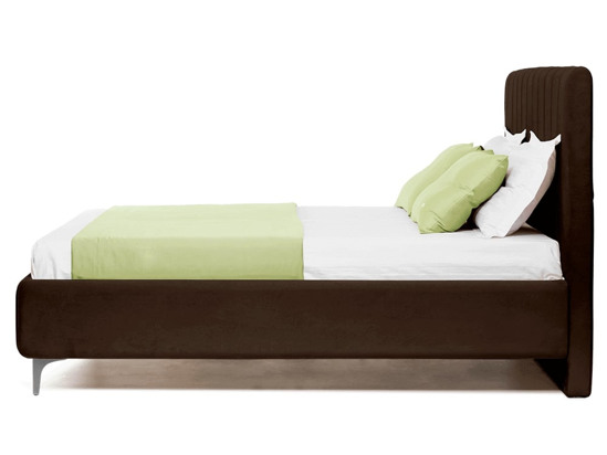 Ліжко Сандра Luxe 200x200 Коричневий 2 -3