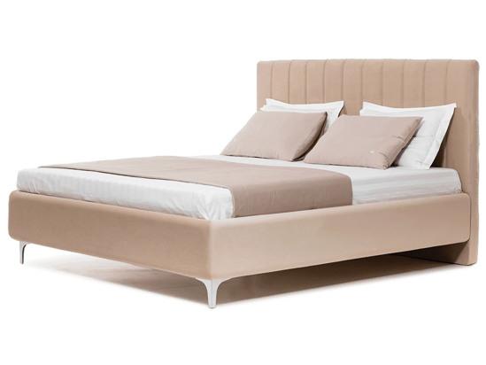 Ліжко Сандра Luxe 200x200 Бежевий 2 -1