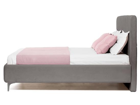 Ліжко Сандра Luxe 200x200 Сірий 2 -3