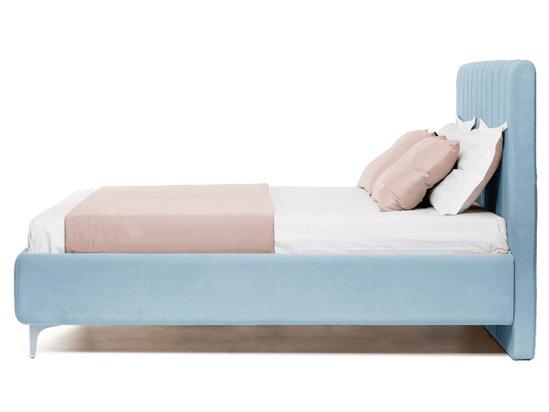 Ліжко Сандра Luxe 200x200 Синій 2 -3